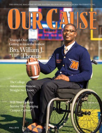 OUR CAUSE Magazine 2015