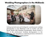 Wedding Photographers in the Midlands