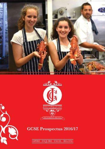 GCSE Prospectus 2016/17