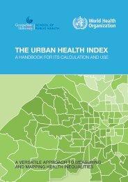 THE URBAN HEALTH INDEX
