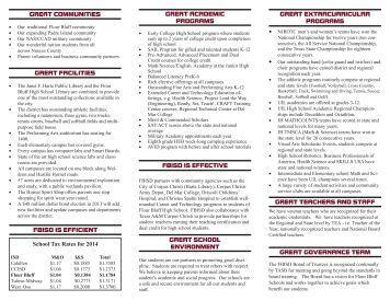 Choose Flour Bluff Brochure - Flour Bluff Independent School District