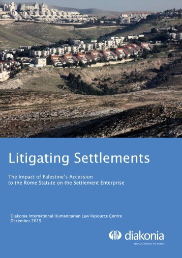 Litigating Settlements