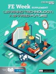 learning technology a shared future