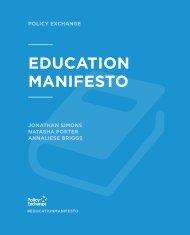 EDUCATION MANIFESTO