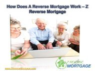 How Does a Reverse Mortgage Work - Z Reverse Mortgage