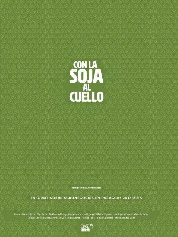 informe sobre agronegocios en paraguay 2013-2015