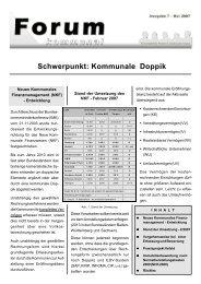 Schwerpunkt: Kommunale Doppik - Heyder Partner Gesellschaft Für ...
