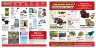 There's A Marvin's Near You! - Marvin's Building Materials and ...