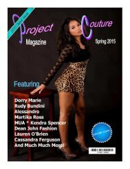 2015 Project Couture Spring Debut Issue
