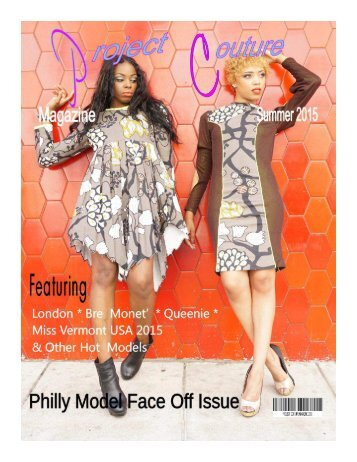 Project Couture Magazine 2015 Summer Issue