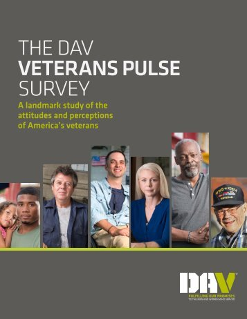 VETERANS PULSE SURVEY
