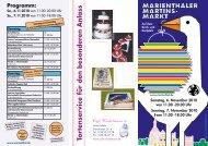 Tortenservice für den besonderen Anlass Programm - Marienthal