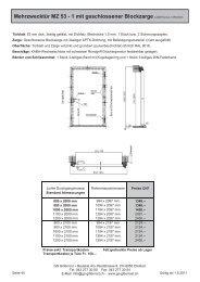 Tueren - GS Gitterrost + Bauteile AG