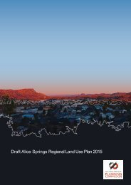 Draft Alice Springs Regional Land Use Plan 2015