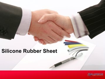 Silicone Rubber Sheets -Elastostar
