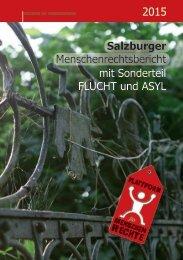 2015 Salzburger Menschenrechtsbericht mit Sonderteil FLUCHT und ASYL