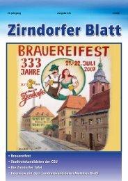 Brauereifest - Das Zirndorfer Blatt