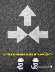 AT THE CROSSROADS OF THE ARTS AND EQUITY
