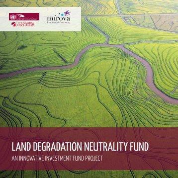 land degradation neutrality fund
