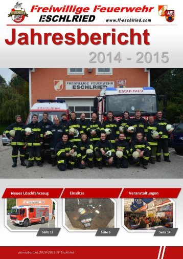 Jahresbericht FF Eschlried 2015