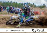 Sponsorenmappe Kay Petrick 2016