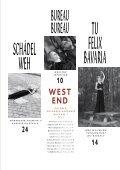 wEST ENd PLAN - westend magazin - Seite 3
