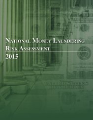National Money Laundering Risk Assessment 2015