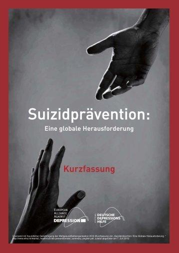 Suizidprävention