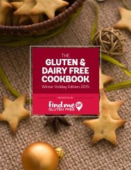 GLUTEN & DAIRY FREE COOKBOOK