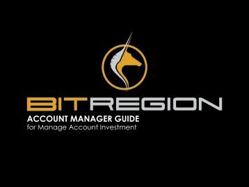 BITREGION - Account Manager Guide