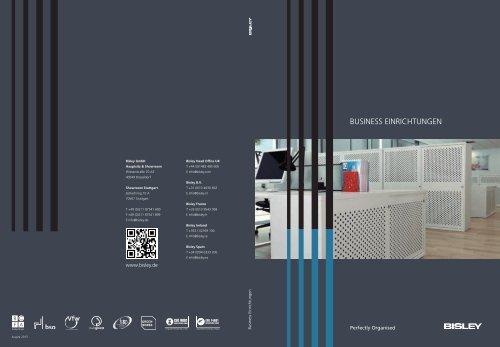 Bisley Hauptkatalog Business+Einrichtungen 2014