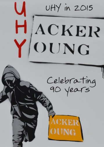 UHY in 2015 Celebrating 90 years