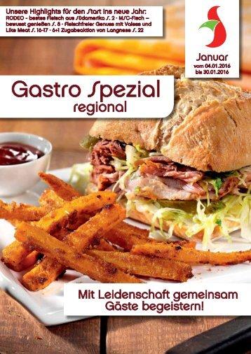 Gastro Spezial Januar 2016