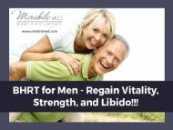 BHRT Treatment for Men - All You Need to Know