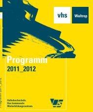 EINSReligion, Politik, Gesellschaft - Volkshochschule Waltrop