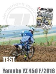 Test  Yamaha YZ 450 F 2016