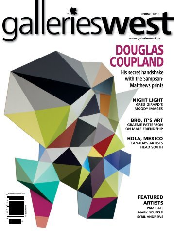 Galleries West Spring 2015