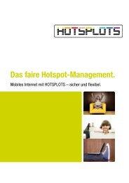 HOTSPLOTS-Management