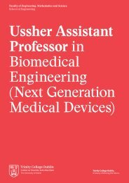 Ussher Assistant Professor in Biomedical Engineering_FINAL