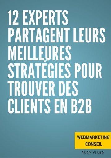 Trouver des clients en B2B