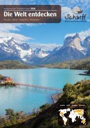 Scharff Reisen - Die Welt entdecken 2016