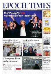 RÉGIONALES 2015 »