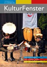 KulturFenster Nr. 05|2014 - Oktober 2014