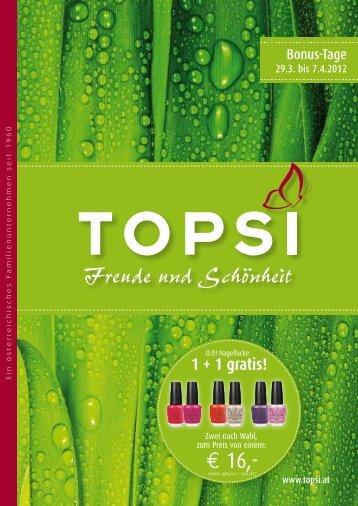€ 16,- - Topsi