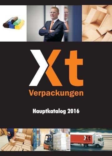 Xt Verpackungen Hauptkatalog 2016