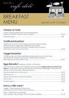 Bernie's Cafe Deli Breakfast Menu - Page 2