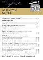 Bernies Cafe Deli Takeaway Menu - Page 2