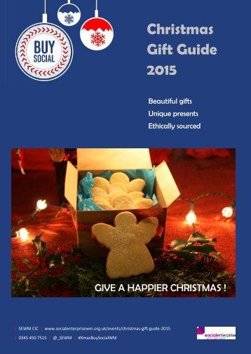Christmas Gift Guide 2015