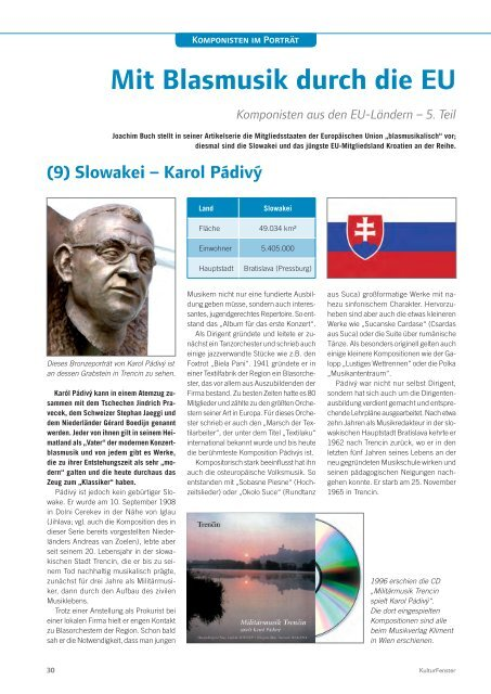 KulturFenster Nr. 04 2013 - August 2013