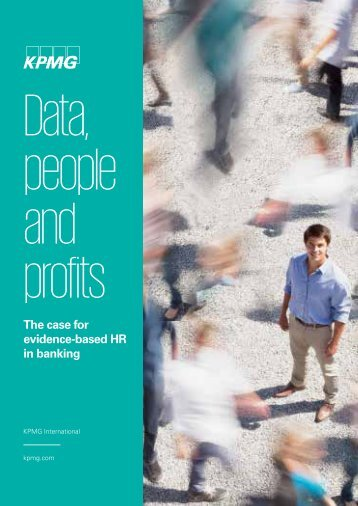 Data people and profits